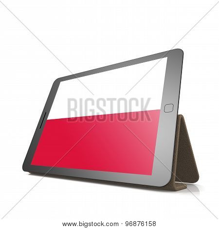 Tablet With Poland Flag