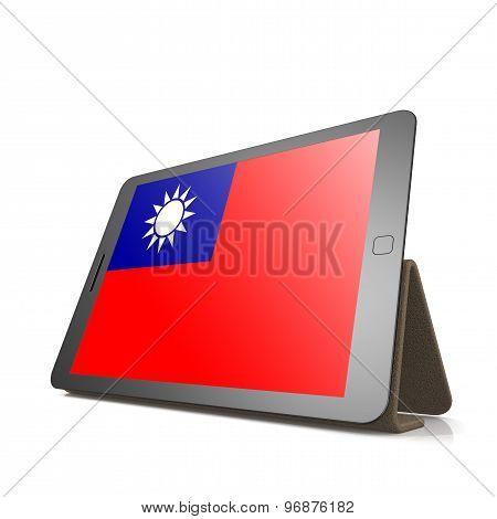 Tablet With Republic Of China Flag