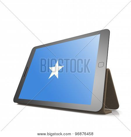 Tablet With Somalia Flag