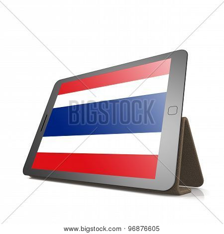 Tablet With Thailand Flag