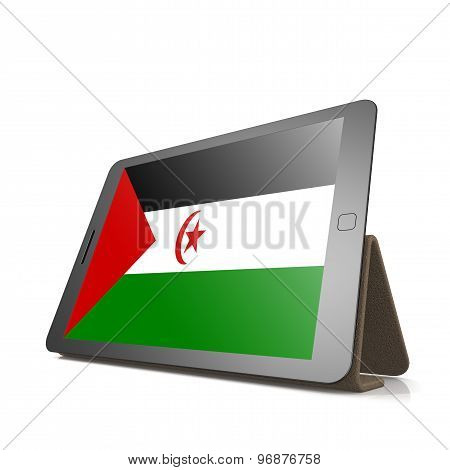 Tablet With Western Sahara Flag