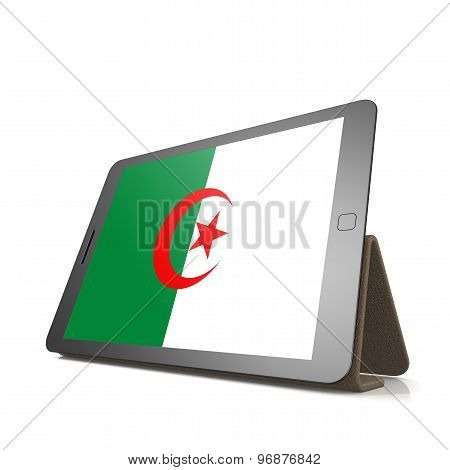 Tablet With Algeria Flag