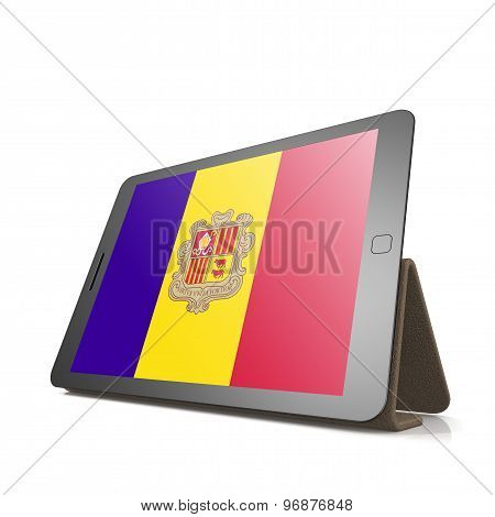 Tablet With Andorra Flag