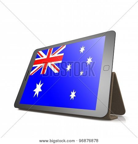 Tablet With Australia Flag