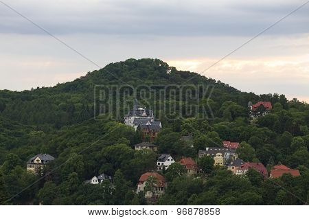View On Hill Near Eisenach