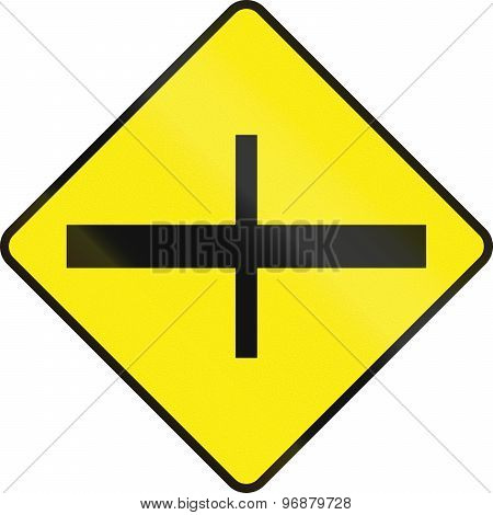 Intersection Ahead In Ireland