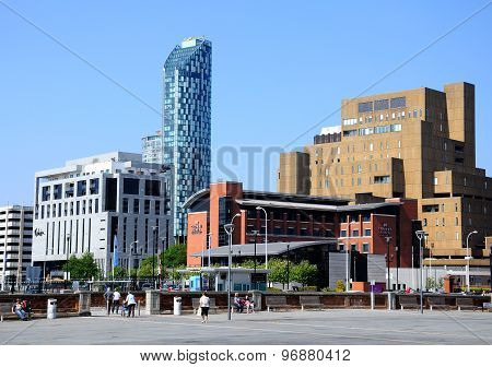 City centre buildings, Liverpool.