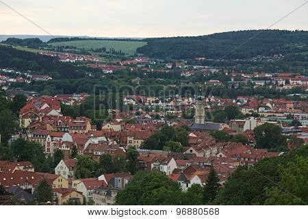 View Over Eisenach