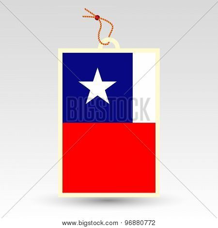 Chilean Price Tag - Symbol Of Made In Chile