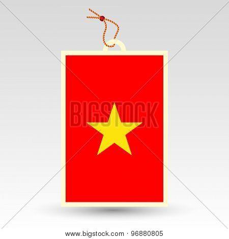 Vietnamese Price Tag - Symbol Of Made In Vietnam