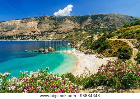 Vouti Beach, Kefalonia Island, Greece