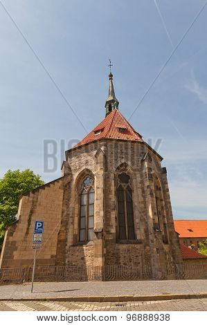 Convent Of Saint Agnes In Jewish Quarter Of Prague