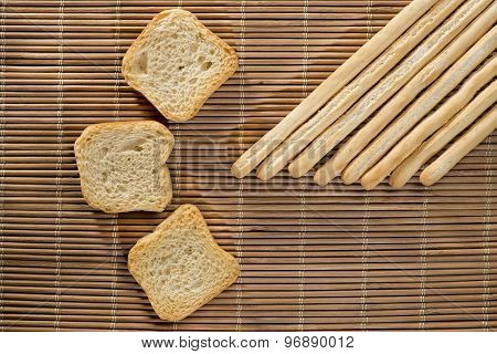 Breadsticks And Toasts