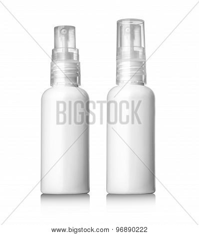 Plastic Bottle White