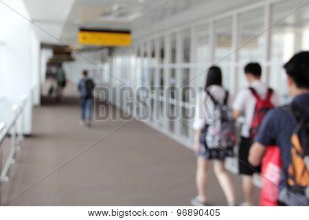 Airport Walk Way