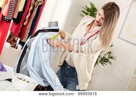 Young Woman Tailor