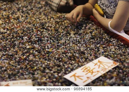 Colourful Pebbles, Xi'an China