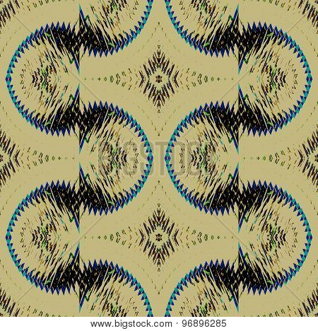 Seamless pattern beige black