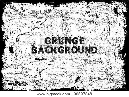 Grunge texture - abstract stock vector template
