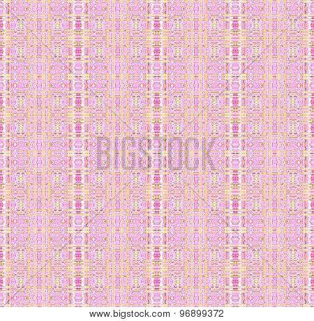 Seamless pattern pink yellow