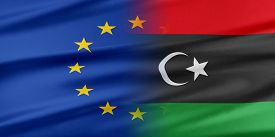 stock photo of libya  - European Union and Libya - JPG