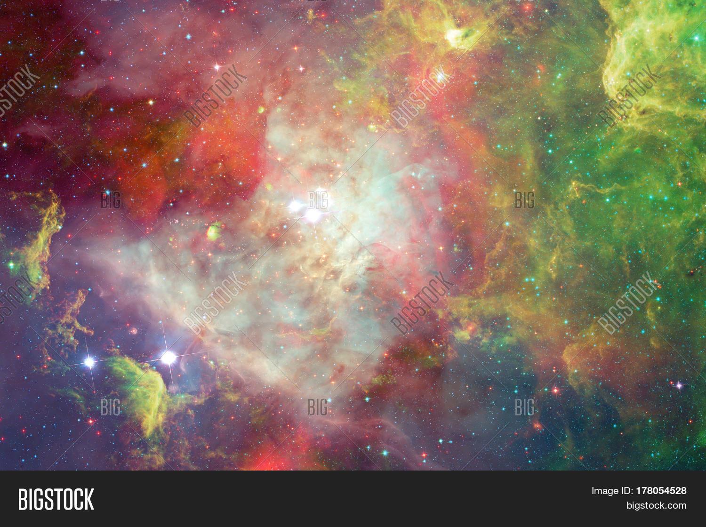 Nebula stars outer space elements image photo bigstock for Outer space elements