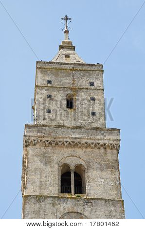 Belltower Cathedral. Matera. Basilicata.
