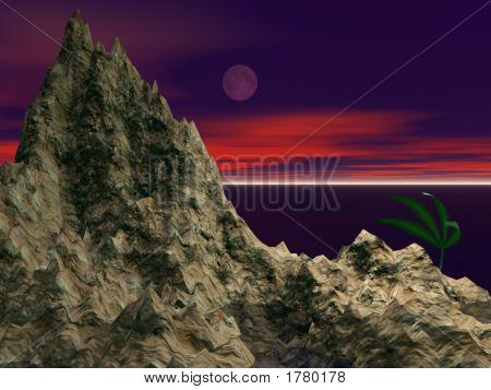 Rocky Moon