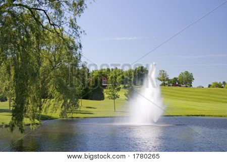 Golf Course Water Source