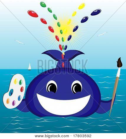 whale artist