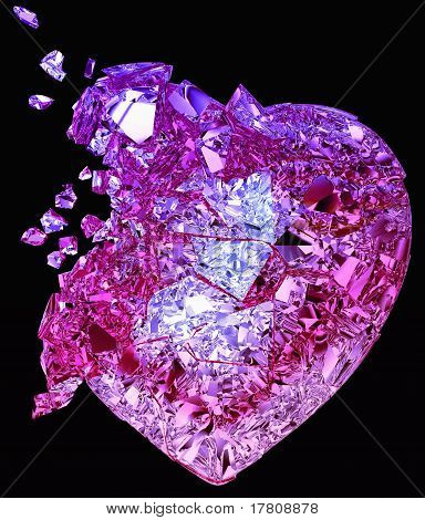 Broken Crystal Heart: Unrequited Love Or Death