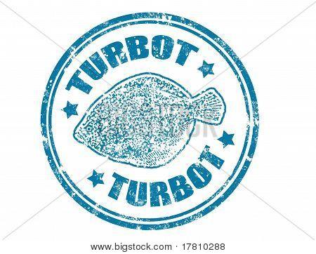 Turbot Stamp