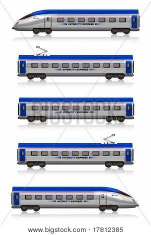 InterCity Express train set