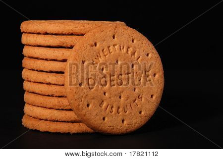 Digestive biscuits, landscape format