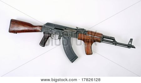 Romanian Pm63 Assault Rifle ak47
