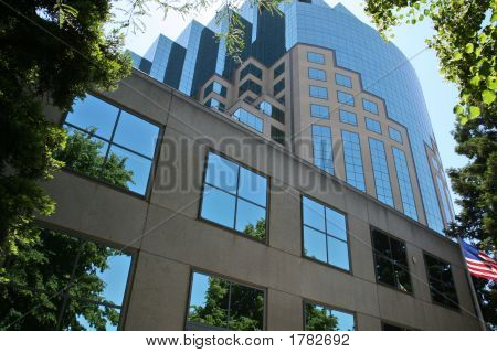 Blue Office Highrise