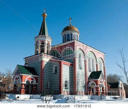 Church of Saints Konstantin and Elena in Abakan