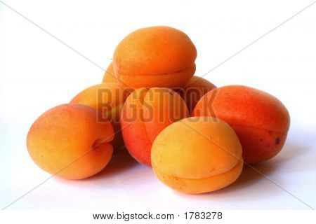 Group Of Apricots