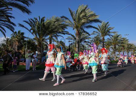 Carnival in Morro Jable, Fuerteventura
