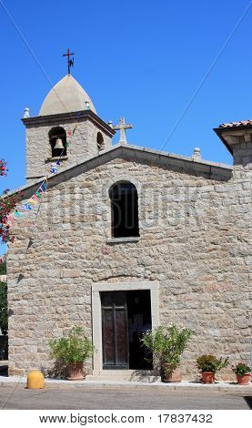 Country Church In San Pantaleo, Sardinia