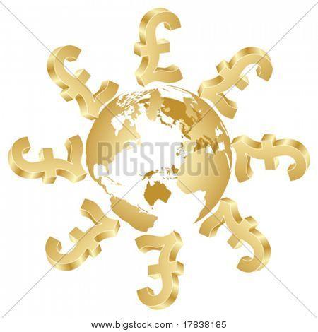 symbol of lira around the world