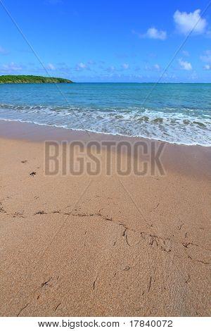 Calm Beach Scene