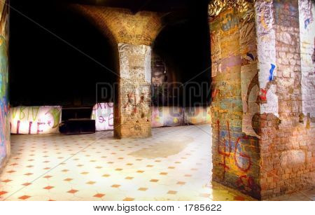Nightclub Interior, Italy