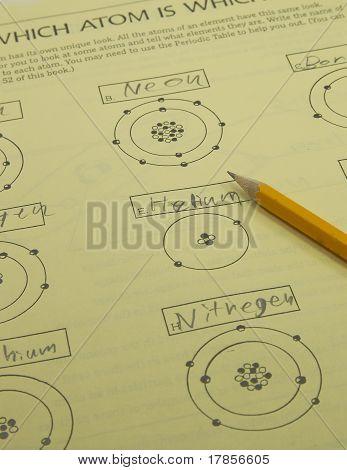 Atom Science Homework