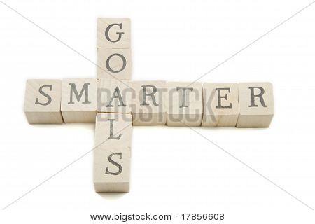 Smarter Goals Wooden Blocks