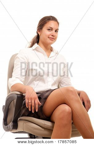 Businesswoman Chair