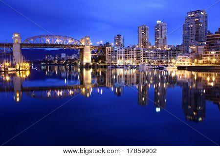 False Creek Dawn Reflections, Vancouver