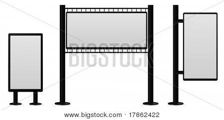 conjunto de construcciones de Billboard