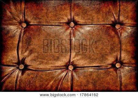 Grunge Antique Leather Background