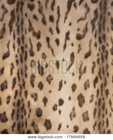 Very realistic synthetic fur